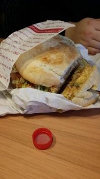 Mega burger!